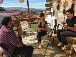 Interviewing Pedro Miguel Alvarado, founder of La Juanita Hostal in Barichara