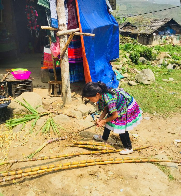 Girl in Sapa, Vietnam